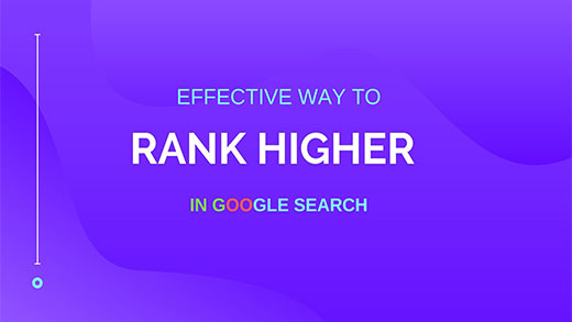 Get High Rank in Google